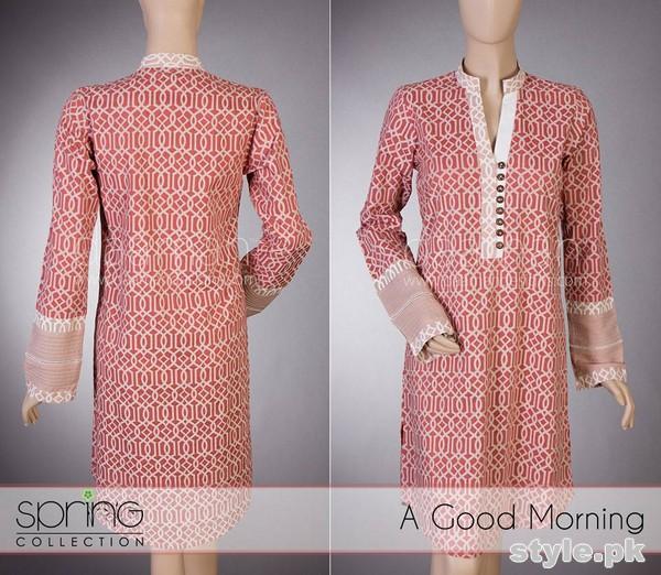 Daaman Summer Dresses 2015 For Girls 4