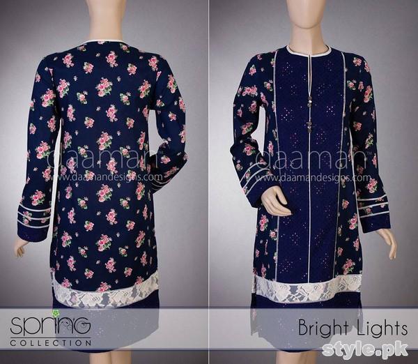 Daaman Summer Dresses 2015 For Girls 8