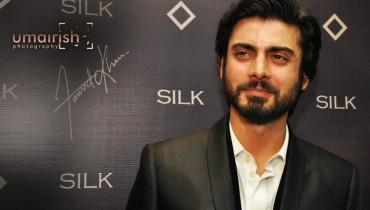 Fawad khan wearing silk by fawad khan