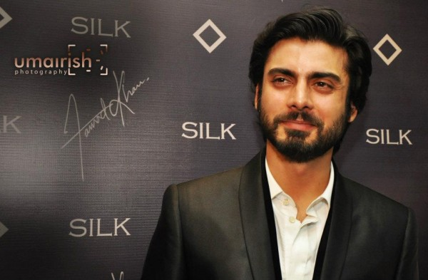 Fawad khan wearing silk by fawad khan - Pakistani Celebrities Who Are Brand Conscious