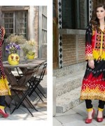 Firdous Cloth Mills Lawn Collection 2015 Volume 2 0015