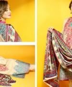 Hadiqa Kiani Fabric World Lawn Collection 2015 Volume 2 For Women 009