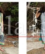 Lala Vintage Lawn Dresses 2015 For Summer 3