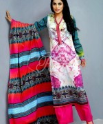 Latest Pakistani Casual Dresses Designs 2015 For Girls 6