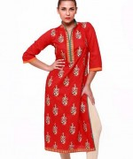 Latest Pakistani Casual Dresses Designs 2015 For Girls 7