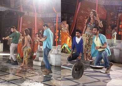 Mathira Performs Item Song In Blind Love