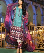 Shariq Textiles Feminine Lawn Collection 2015 For Women 0010
