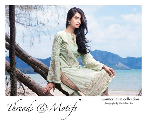 Threads & Motifs Lawn Collection 2015 For Women 009