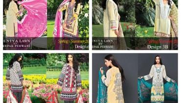 Zeniya Lawn Collection 2015 By Deepak Perwani