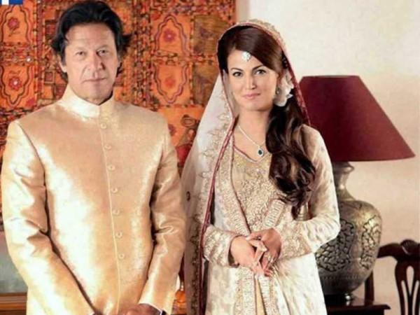 imran khan and reham khan marriage pics