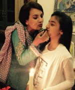 reham khan with daughter