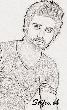 sketch of agha ali