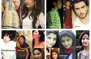 Childhood Pictures Of Pakistani Celebrities