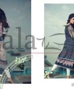 Lala Brocade Kurti Collection 2015 For Summer 3