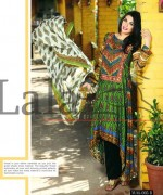 Lala Textiles Mashaal Embroidered Collection 2015 For Women-009