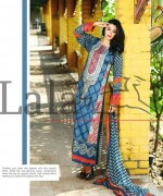 Lala Textiles Mashaal Embroidered Collection 2015 For Women001