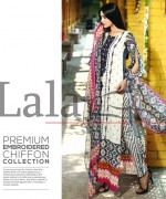 Lala Textiles Mashaal Embroidered Collection 2015 For Women0010