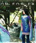 Lala Textiles Mashaal Embroidered Collection 2015 For Women0015