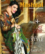 Lala Textiles Mashaal Embroidered Collection 2015 For Women0017