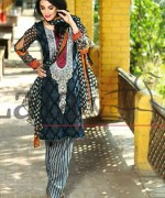 Lala Textiles Mashaal Embroidered Collection 2015 For Women002