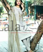 Lala Textiles Mashaal Embroidered Collection 2015 For Women003