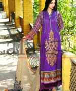 Lala Textiles Mashaal Embroidered Collection 2015 For Women007