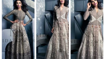 Nida Azwer Party Wear Collection 2015 For Women