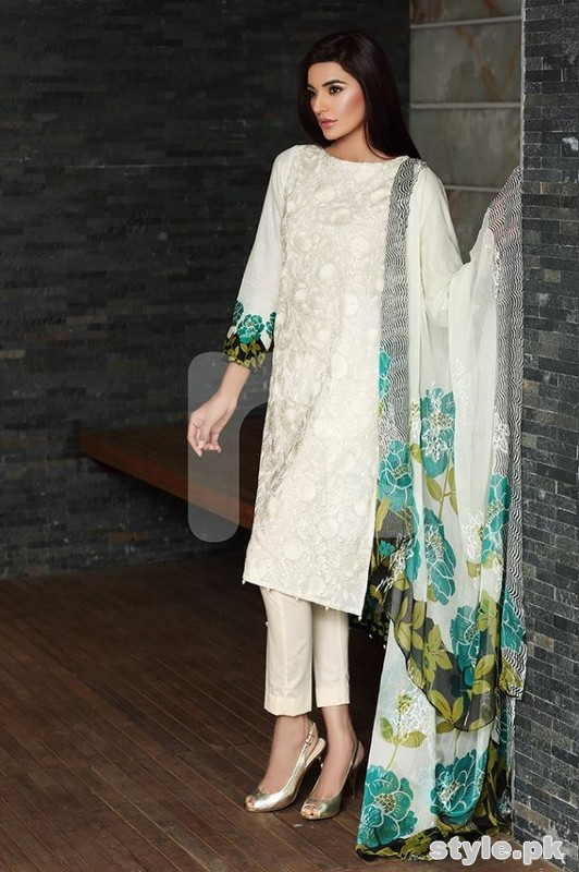 Nishat Linen Summer Dresses 2015 Volume 2 8