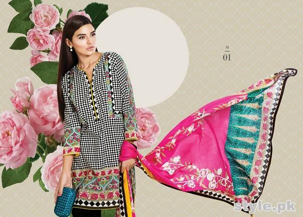 Sana Safinaz Unstitched Collection 2015 For Summer 5