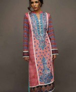 Shariq Textiles Rabea Embroidered Kurti Collection 2015 For Women001