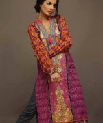 Shariq Textiles Rabea Embroidered Kurti Collection 2015 For Women002