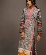 Shariq Textiles Rabea Embroidered Kurti Collection 2015 For Women006