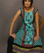 Shariq Textiles Rabea Embroidered Kurti Collection 2015 For Women009