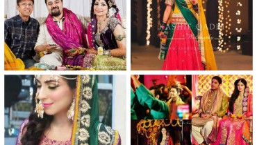 Which Pakistani Celebrity Looks Beautiful On Her Mehndi Day