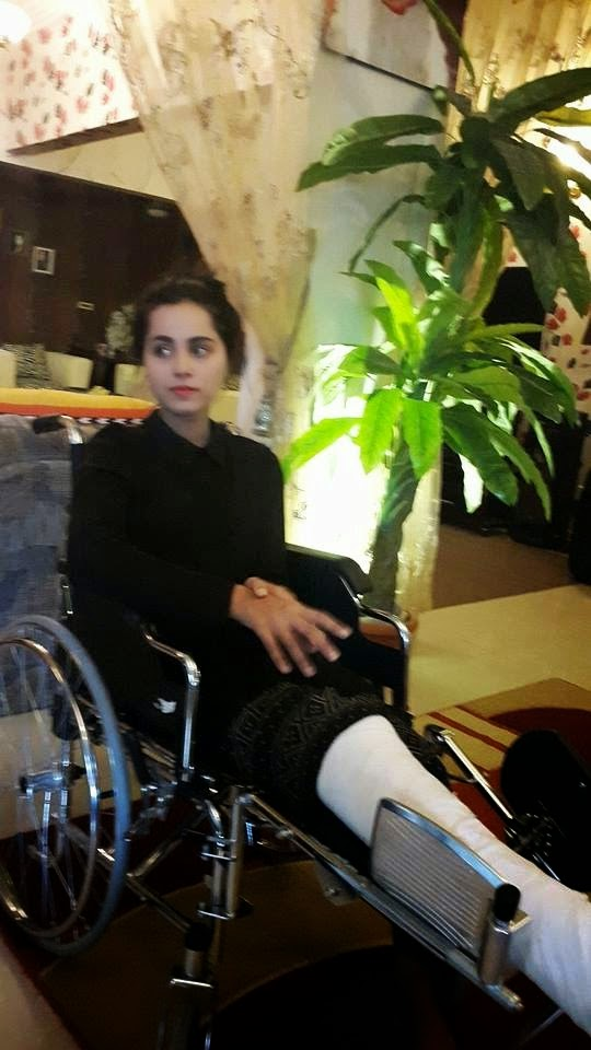 Actress Nimra Khan's survival Journey after very badly accident Back to the life (5)