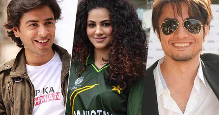 Ali Zafar, Shehzad Roy & Annie Khalid