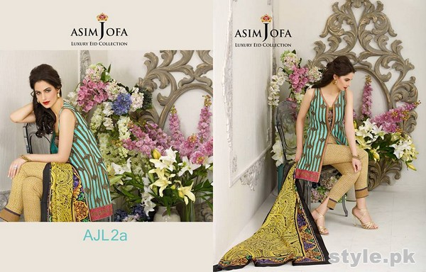 Asim Jofa Eid Collection 2015 For Women 2