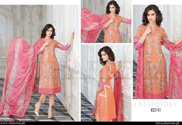 Charizma Eid Collection 2015 For Women003