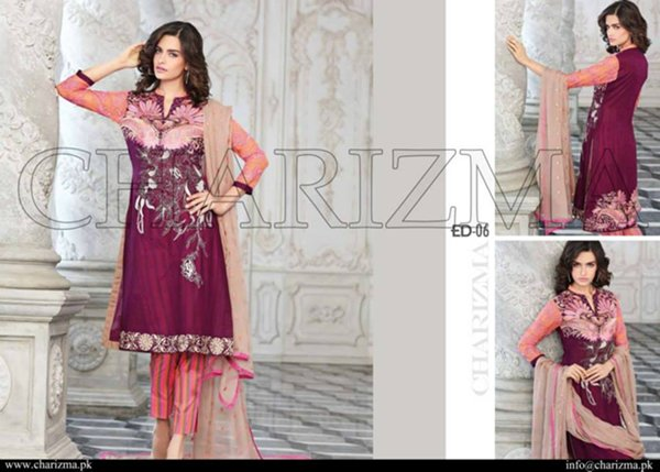 Charizma Eid Collection 2015 For Women008