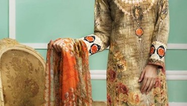 Cross Stitch Eid Collection 2015 For Women007