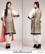 Fahad Hussayn Eid Dresses 2015 For Women 1