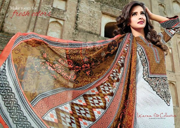 Jubilee Cloth Mills Eid Collection 2015 For Women008
