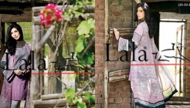 Lala Textiles Eid Collection 2015 By Sonya Battla0012