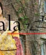 Lala Textiles Eid Collection 2015 By Sonya Battla0019