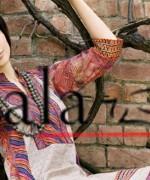 Lala Textiles Eid Collection 2015 By Sonya Battla002