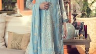 Maria B Embroidered Chiffon Collection 2015 For Women007