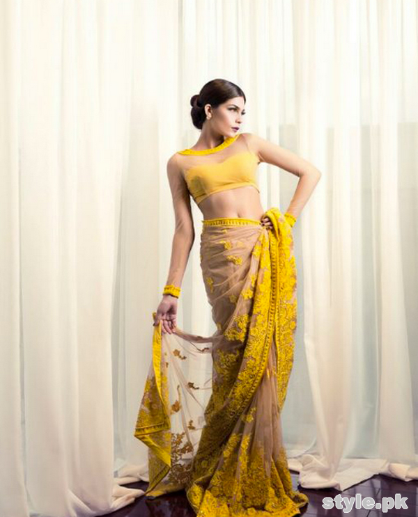 Mina Hasan Women Formal Wear Dresses 2015 For Wedding 6