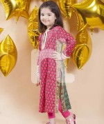 Naqsh By Nishat Linen Eid Collection 2015 For Kids005