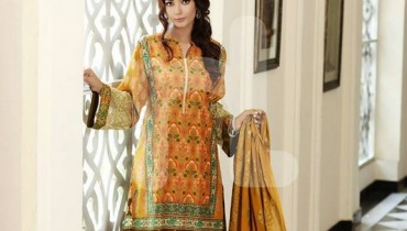 Nishat Linen Eid Collection 2015 For Women 8
