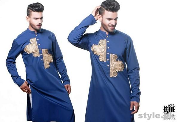 Wajahat Mansoor Menswear Collection 2015 For Eid-Ul-Fitr 1